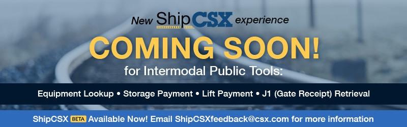 ShipCSX - Mainpage